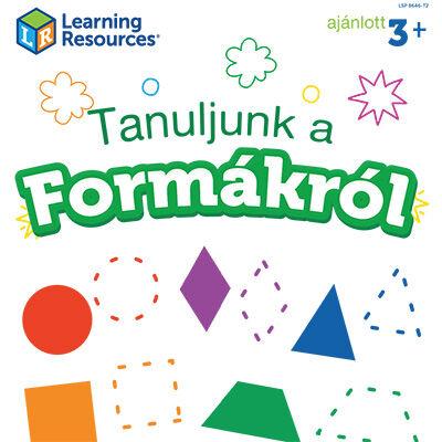 Learning Resources fejlesztőfüzetek ingyenesen letölthető formák, alakzatok ovisoknak