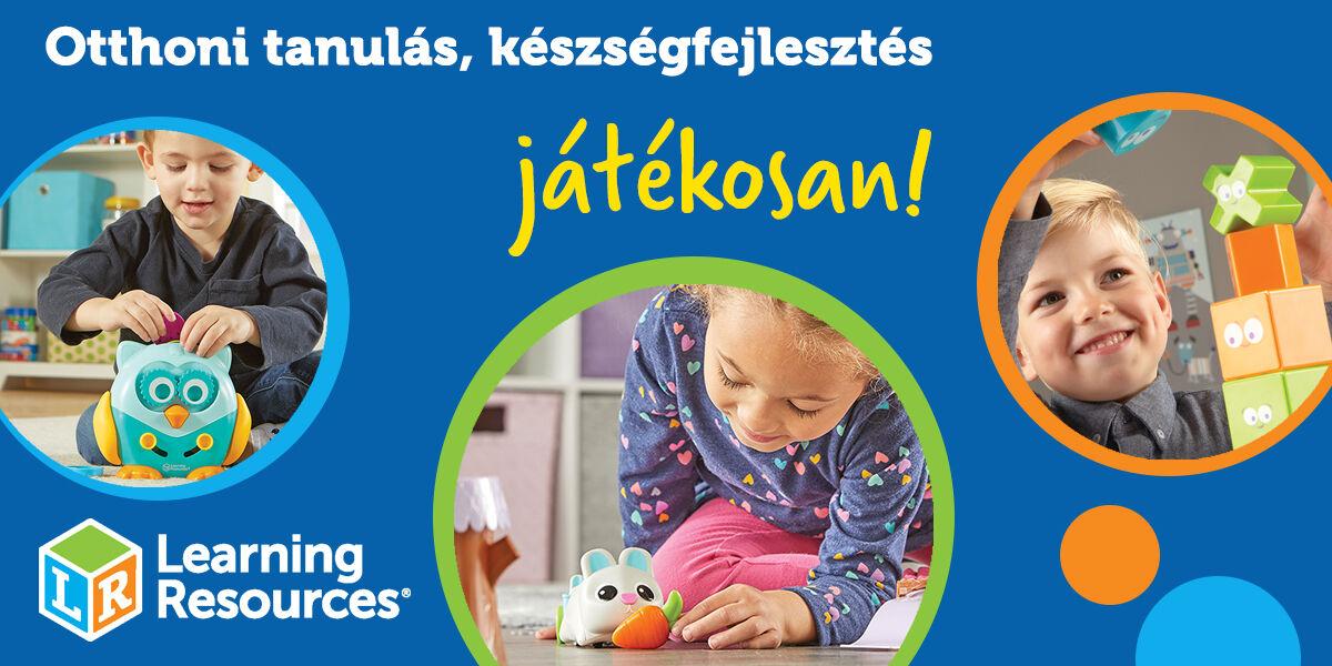 Otthoni tanulás, készségfejlesztés játékosan a Learning Resources ingyenesen letölthető foglalkoztató füzeteivel