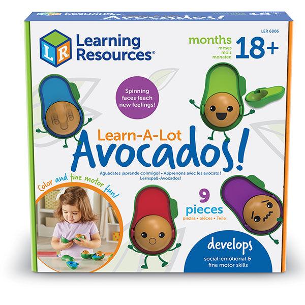 Learn a lot avocado - avokádós érzelmi intelligencia fejlesztő játék Learning Rescources
