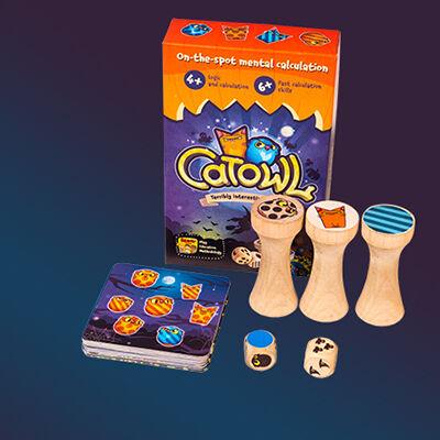CatOwl macskabagoly társasjáték
