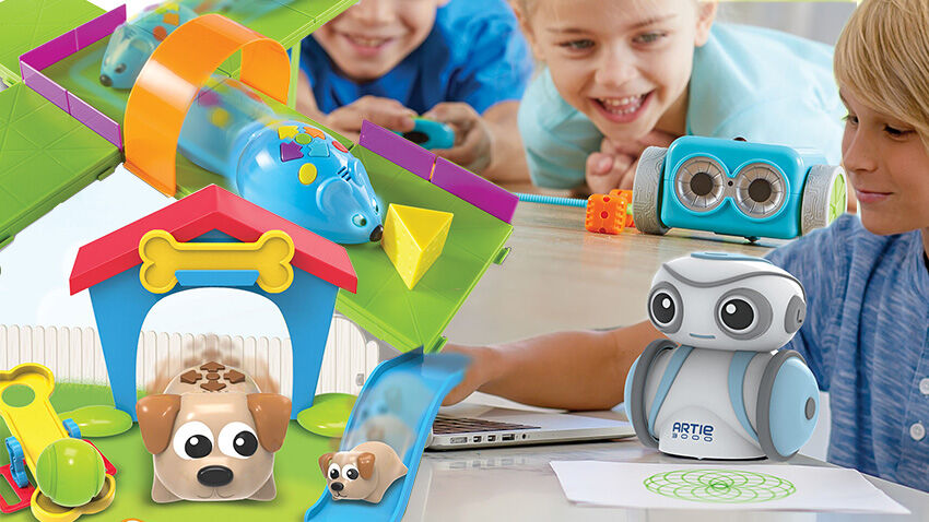Learning Resources programozható robotok, Coding Critters, Botley, Artie300, Robot Egér