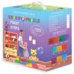 Kép 3/3 - Játszószőnyeg babálnak, szenzoros szőnyeg, 1,2,3 éveseknek, Ortho puzzle