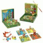 Kép 2/2 - Társasjáték 2-3-4 éveseknek - Djeco Wood DJ1628