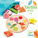 Kép 1/2 - Tapintás fejlesztő játék fából, Djeco Tactilo Basic