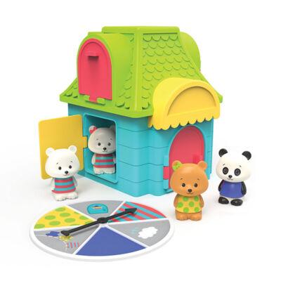 Macis bújócskázós párosító játék kicsiknek