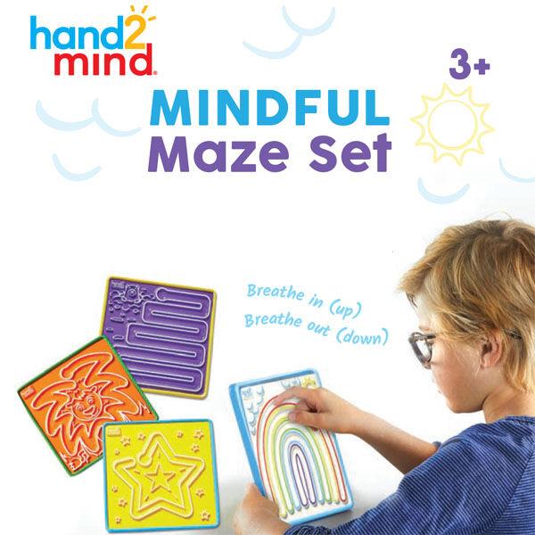 Stresszoldó labirintus - Mindful Maze Set (93247)