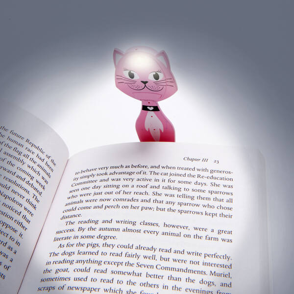 Animal Flexilight Cat  könyvjelző olvasólámpa