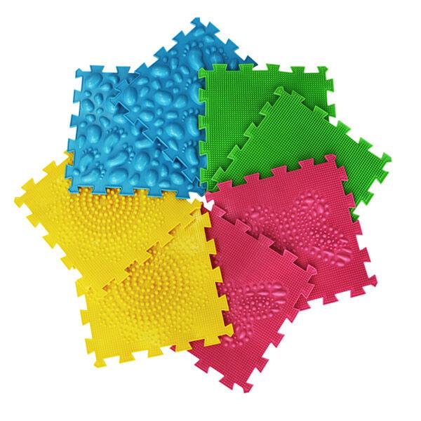 Játszószőnyeg babálnak, szenzoros szőnyeg, 1,2,3 éveseknek, Ortho puzzle