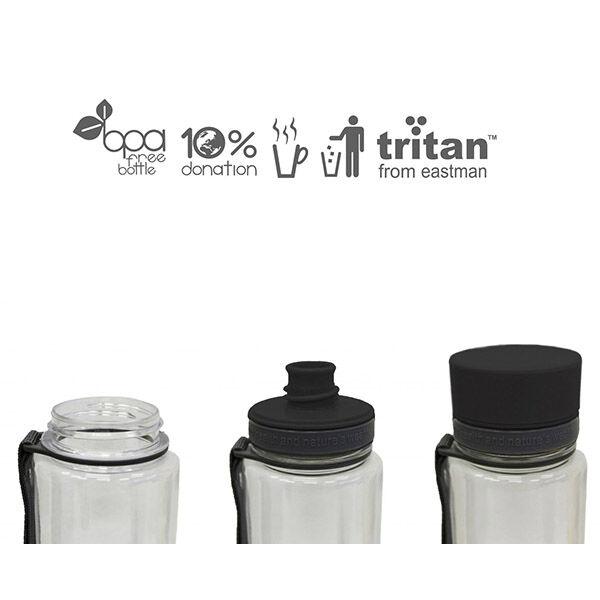 Könnyen tisztítható BPA mentes kulacs