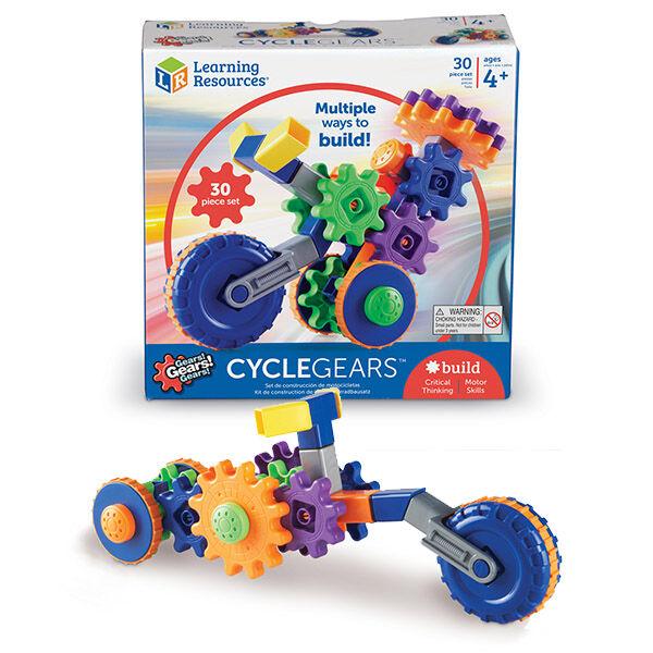 Gears! Gears! Gears! Cycle gears fogaskerekes járművek építőjáték