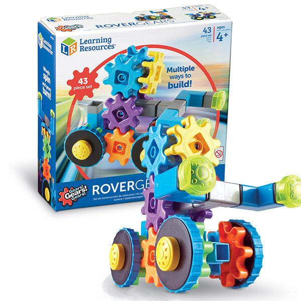 Gears! Gears! Gears! Rover gears fogaskerekes járművek építőjáték