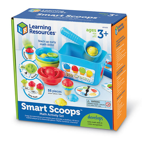 Smart Scoops, matekozós fagylaltkészlet