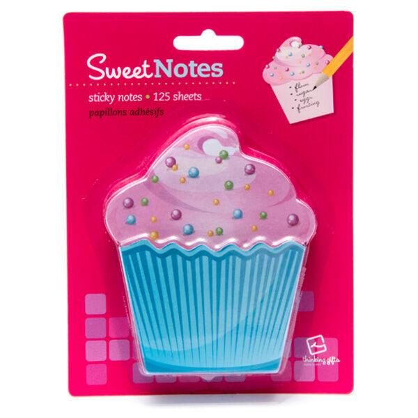 Cupcake Notes muffinos öntapadós jegyzettömb