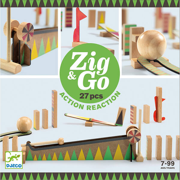DJECO Zig & Go STEM építő készlet (27 db)