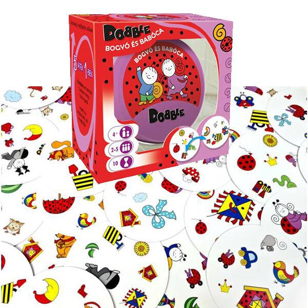 Bogyó és Babóca Dobble készségfejlesztő játék
