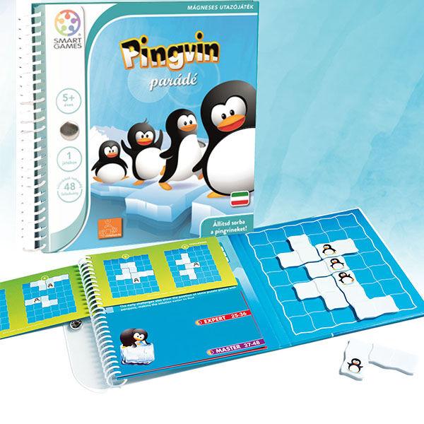 SmartGames Pingvin parádé mágneses logikai játék