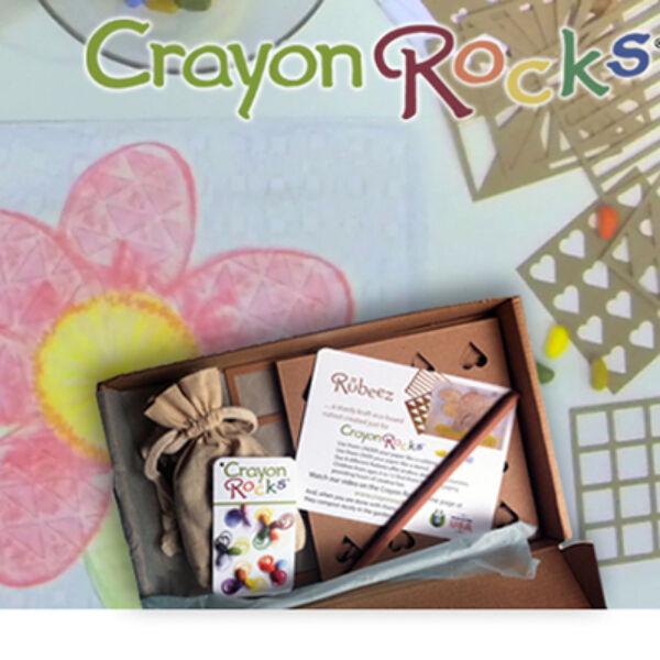 Crayon Rocks Rubeez - művészdoboz, kavicskréta