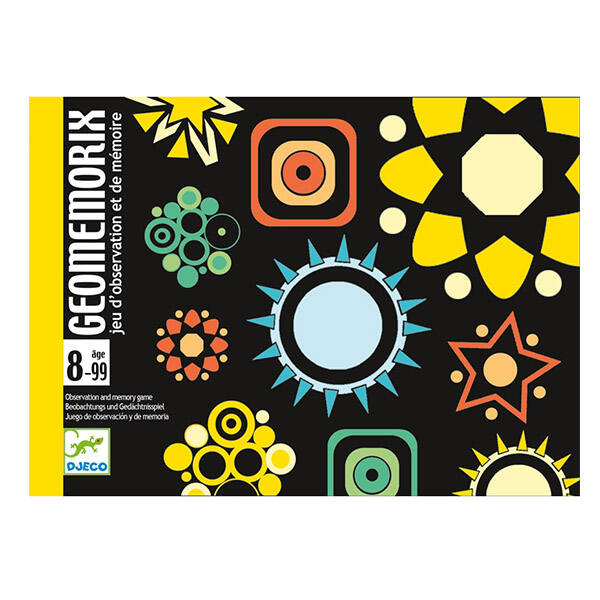 DJECO Geomemorix - kártyajáték
