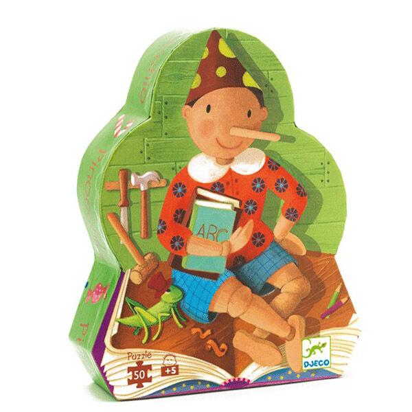 DJECO Mese puzzle (50 db) - Pinokkió