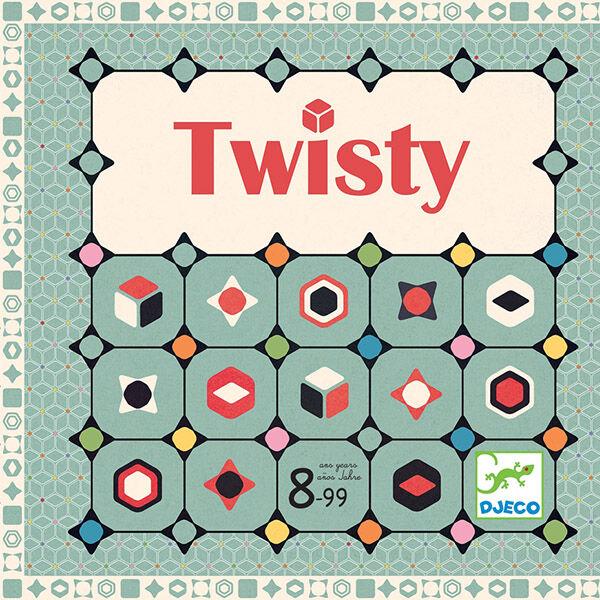 DJECO Twisty családi társasjáték