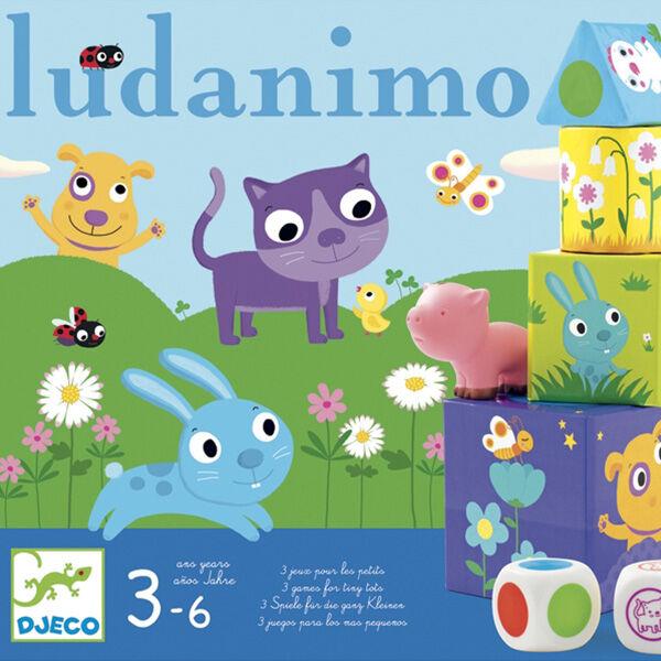 Ludanimo - Memória fejlesztő és ügyességi játék