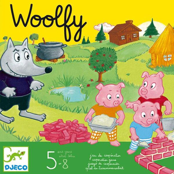 Woolfy - A három kismalac kooperatív társasjáték