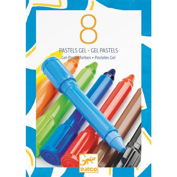 DJECO Gélpasztell (8), klasszikus színek