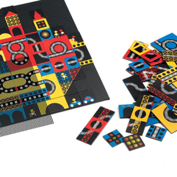 DJECO Kinoptik, optikai puzzle City