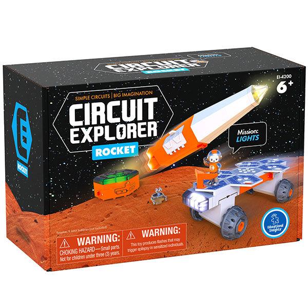 Elektronikai építőkészlet Űrhajó - Circuit Explorer®