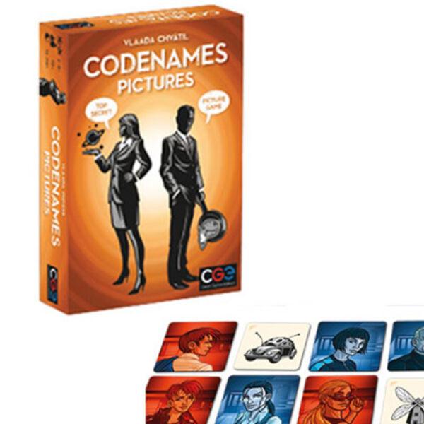 Fedőnevek képekkel - Codenames társasjáték