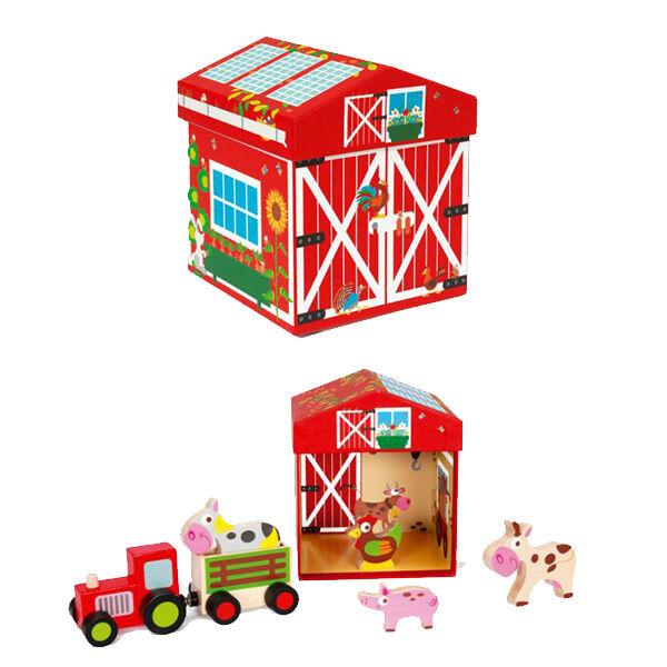 JátékBox Farm SCRATCH MIX+PLAY