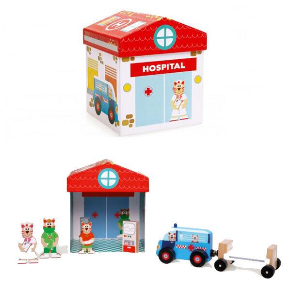JátékBox Klinika SCRATCH MIX+PLAY