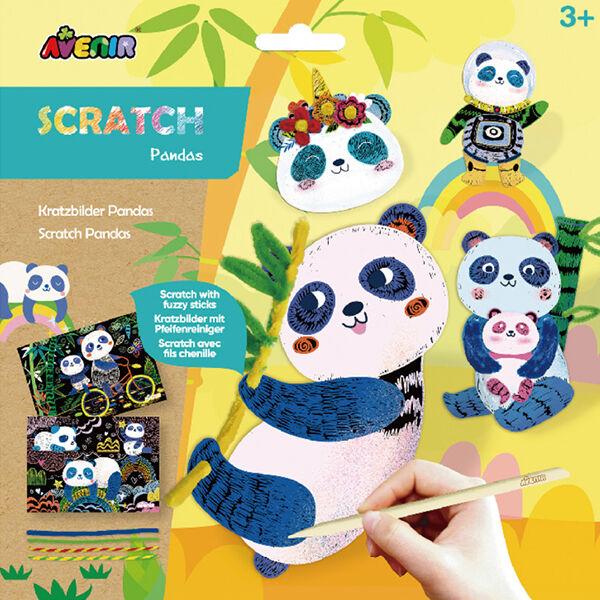 Karckép készítés, Panda macik, Avenir