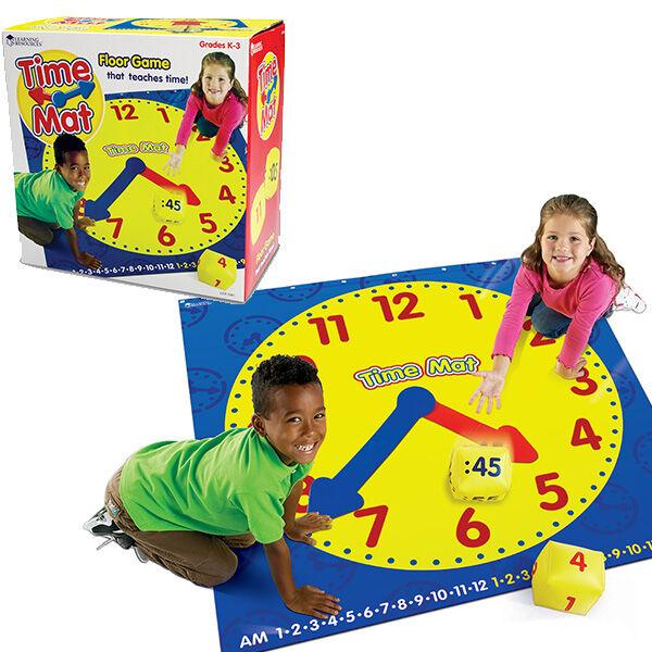 Tanuló óra játszószőnyeg - Time Activity Mat