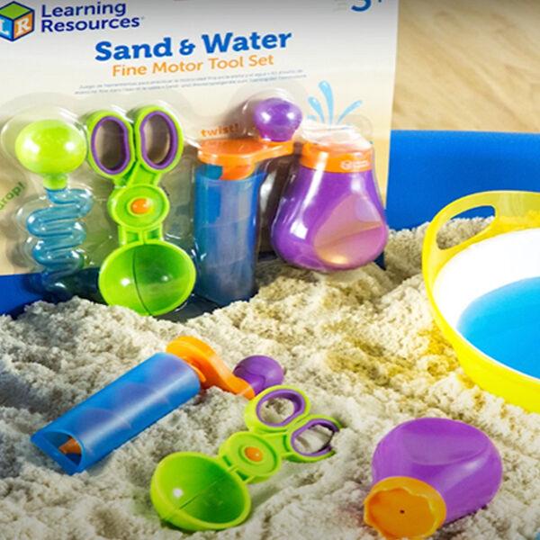 Homokozós - vizezős finommotorikát fejlesztő eszközök 4 db - Sand&Water