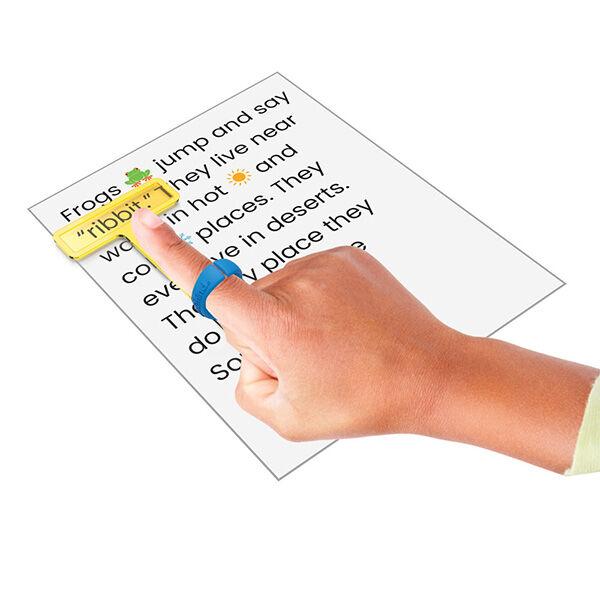 Kiemelő sorkövető, olvasást segítő eszköz (4 db)