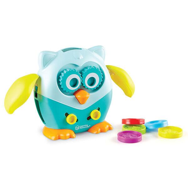 Finommotorika fejlesztő bagoly - Fine Motor Owl