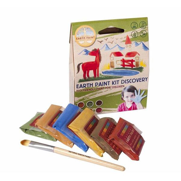 Natural Earth Paint vízfesték-ujjfesték induló csomag