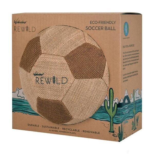 Waboba Rewild focilabda, természetes játék, ökojatek