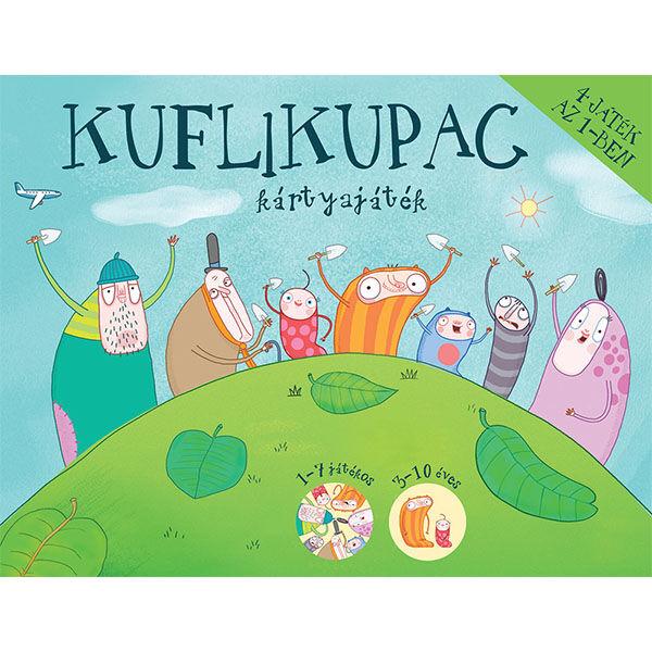 Pagony Kuflikupac 4 in 1 kártyajáték