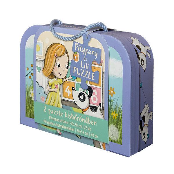 Pagony Pitypang és Lili bőröndös puzzle