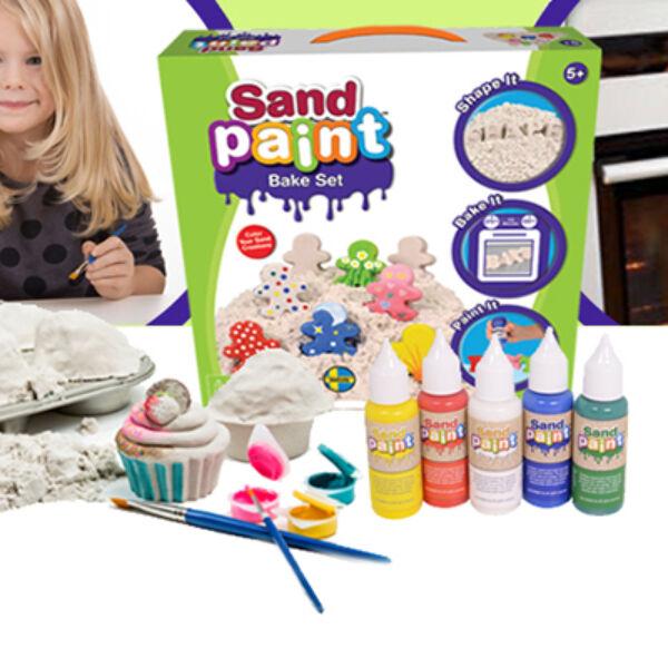 Sand Paint Bake Set ajándékdobozban