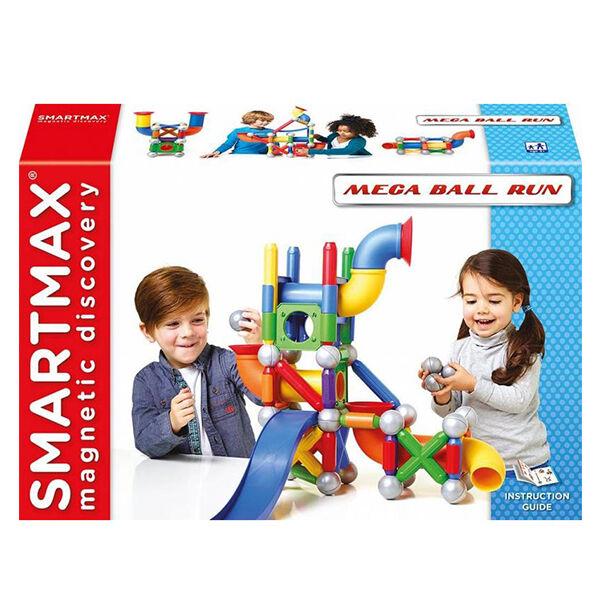SmartMax Mega Ball Run-mágneses építőjáték (74 darabos  készlet)