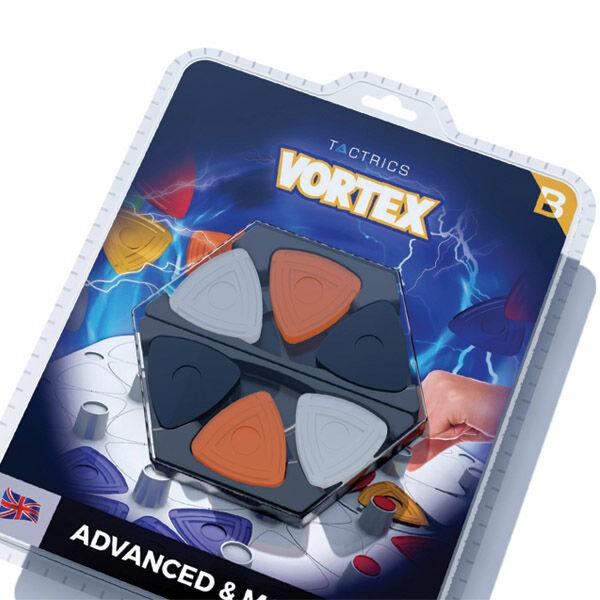 Vortex, haladó változatok korongkészlet a Vortex Basic társasjátékhoz