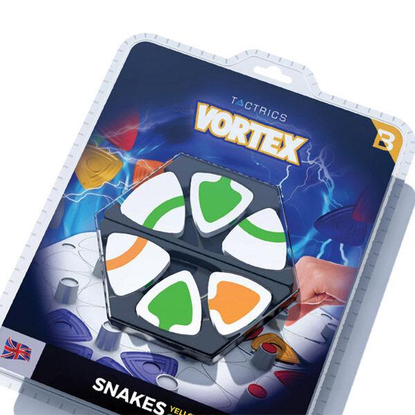 Vortex Snakes, kiegészítő korongkészlet a Vortex Basic társasjátékhoz (narancs-zöld)