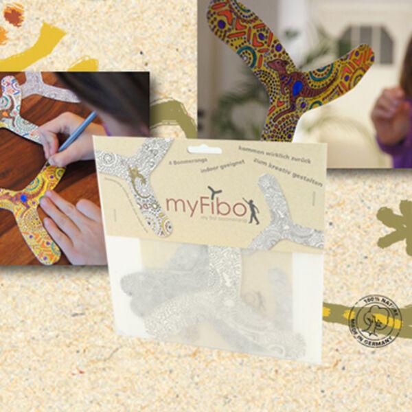 MyFibo kreatív szobabumeráng