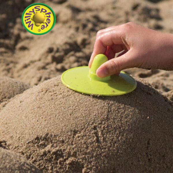 WillySpheres - homokgömbölyítő - homokozó készlet (4 db)