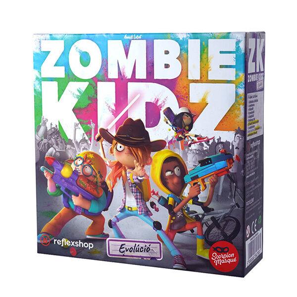 Zombie kidz evolúció kooperativ társasjáték gyerekeknek